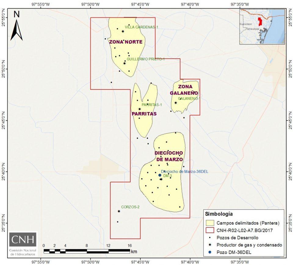 Pantera E&P estima perforar 4 pozos terrestres